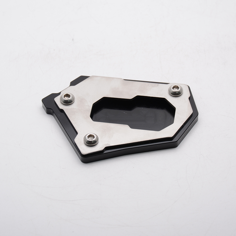 For BMW R1200GS 2013-2016 Motorcycle CNC Aluminum Side Kickstand Stand Extension Support Plate Black new motorcycle kickstand foot side stand enlarge extension pad support plate for bmw r 1200 gs 2008 2012 r 1200 adv 2008 2012