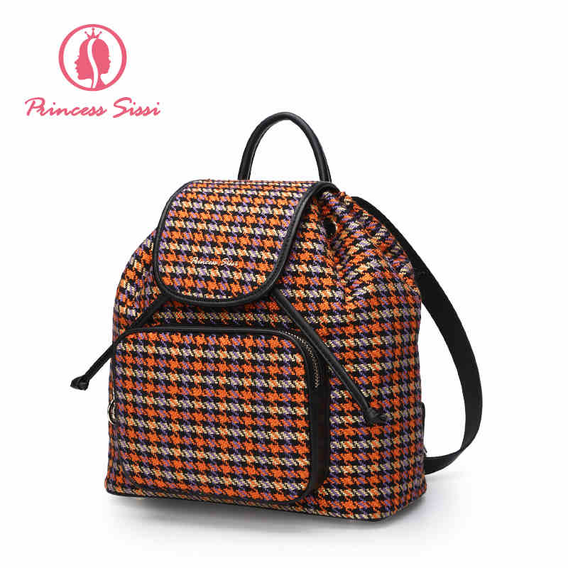 Princess Sissi Top Female Backpack 2017 Fashion Ladies Bag Women Backpacks School Shoulder Bag Softback Bags