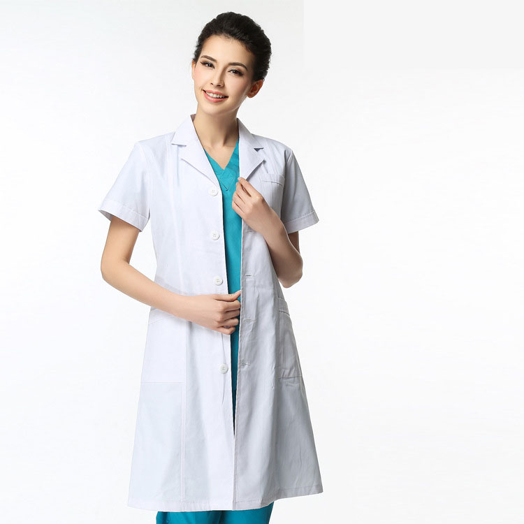 Popular Short Sleeve White Lab Coat-Buy Cheap Short Sleeve White