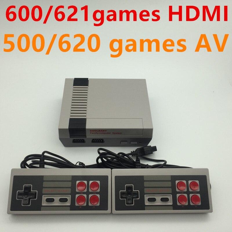 Hdmi-uitgang klassieke juegos speler Familie TV consola de videojuegos kindertijd ingebouwde 600/620/621 juegos mini consola