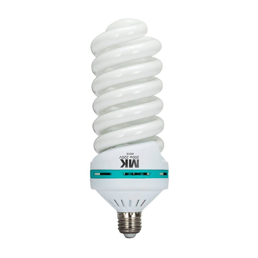 200W 5500K E27 220V лампа CFL для фотографического софтбокс для студийного освещения оборудования 92% CRI