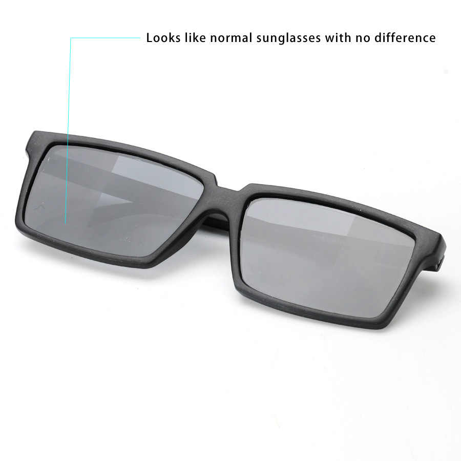 7e0a1f42ceb0c ... To See Behind Spy Sunglasses Novelty Shades with Mirror on Side Ends  Funny Costume Glasses Accessories ...