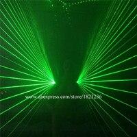 Wholesale 2 Pcs Green Laserman Shoulder Costume Vest Luminous Waistcoat Green Laser Man Laser Show Stage