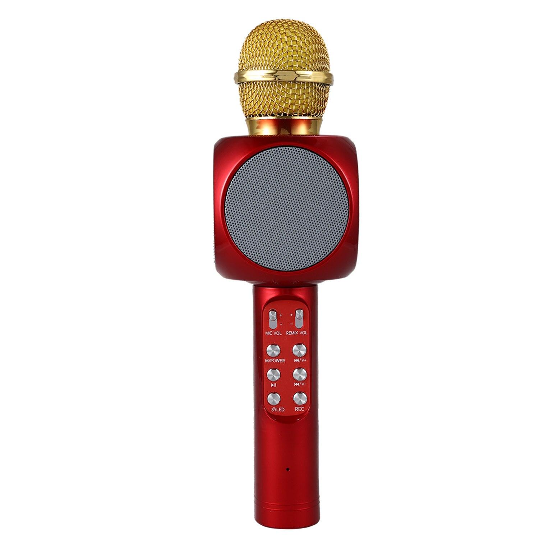 Aliexpress Com Buy Led Wireless Karaoke Microphone
