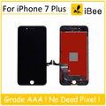 3 pcs oem qualidade para iphone 7 plus display lcd com tela de toque digitador assembléia substituição branco preto frete grátis