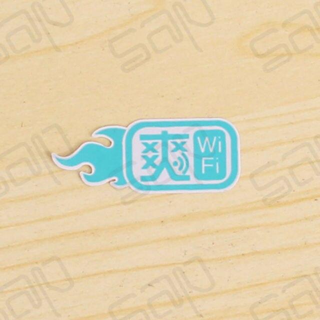 1000pcs Lot Die Cut Mini Logo Glossy Lable Vinyl Stickers Custom