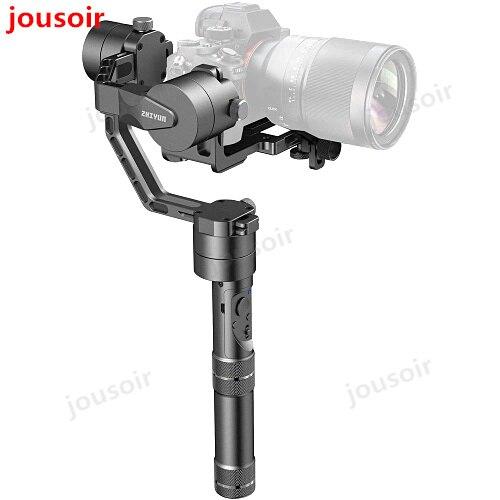 Grue V2 3 axes caméra portable cardan 3 axes stabilisateur vidéo 3 32Bit moteurs Brushless pour C N caméra sans miroir CD50