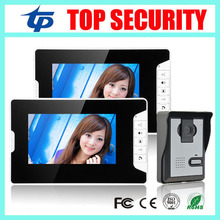 Good quality 7 inch video door phone wired door bell night version camera 7″ color video intercom access controller