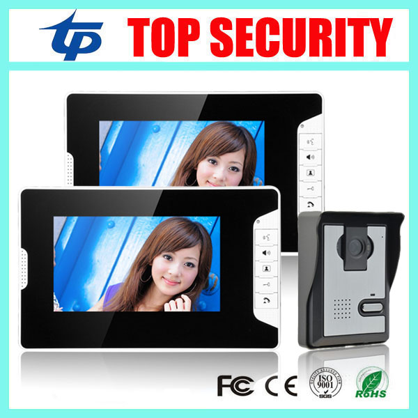 Good quality 7 inch video door phone wired door bell night version camera 7 color video  ...
