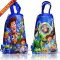 20pcs Toy Story Cartoon Drawstring Backpack Bags 34*27CM School Furniture Non-Woven Fabric Kids Party & Candy Bags as Gift