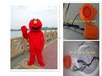 Elmo trang phục cho người lớn elmo mascot costume elmo mascot chất lượng cao Dài Lông Elmo Mascot Costume gửi cho bạn một fan hâm m