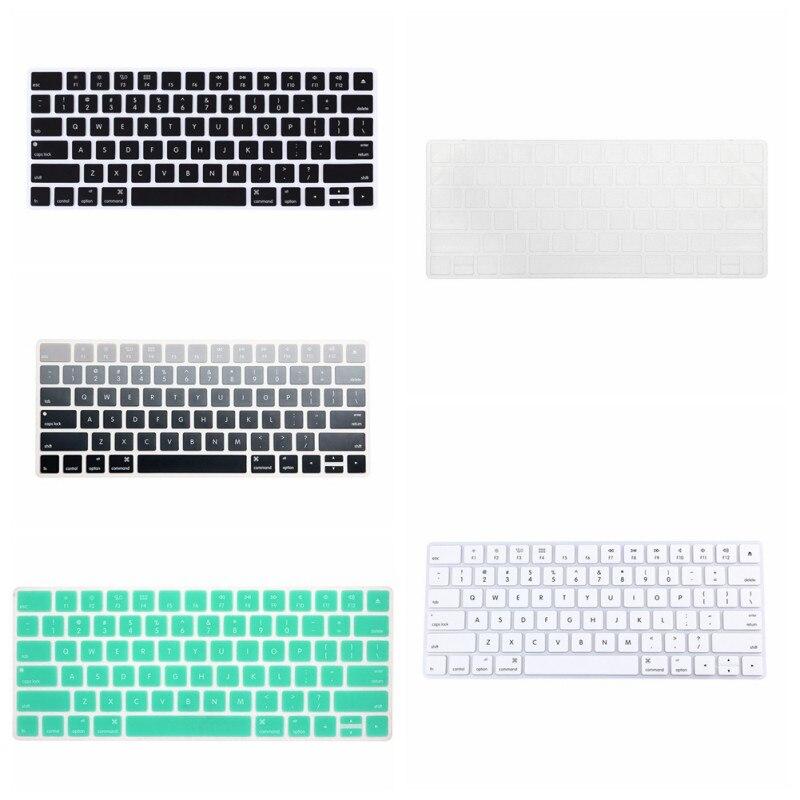 Fashion Silicone Keyboard Skin Cover For font b Apple b font Bluetooth Keyboard Magic Skin Protector