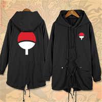 Anime Cartoon NARUTO Sasuke Uchiha Itachi Sharingan Cosplay Kostüme Baumwolle Männer Frauen Graben Jacken Warme Hoodies Mantel Neue Top