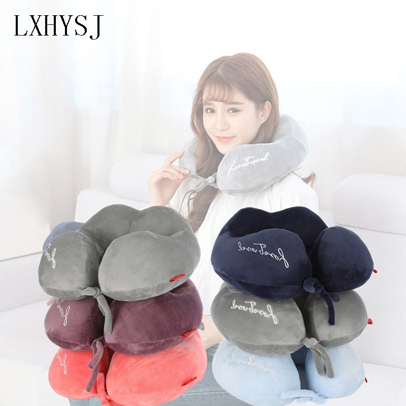 U Shape Travel Neck Pillow Suitable For Aircraft Neck Pillow Neck Pad Travel Accessories Unisex Office Lunch Break Neck Pillow