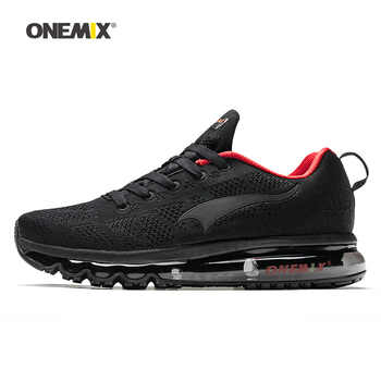 ONEMIX Man Running Shoes For Men Nice Zapatillas Athletic Trainers Black Red Sports Air Cushion Outdoor Jogging Walking Sneakers - DISCOUNT ITEM  50% OFF All Category