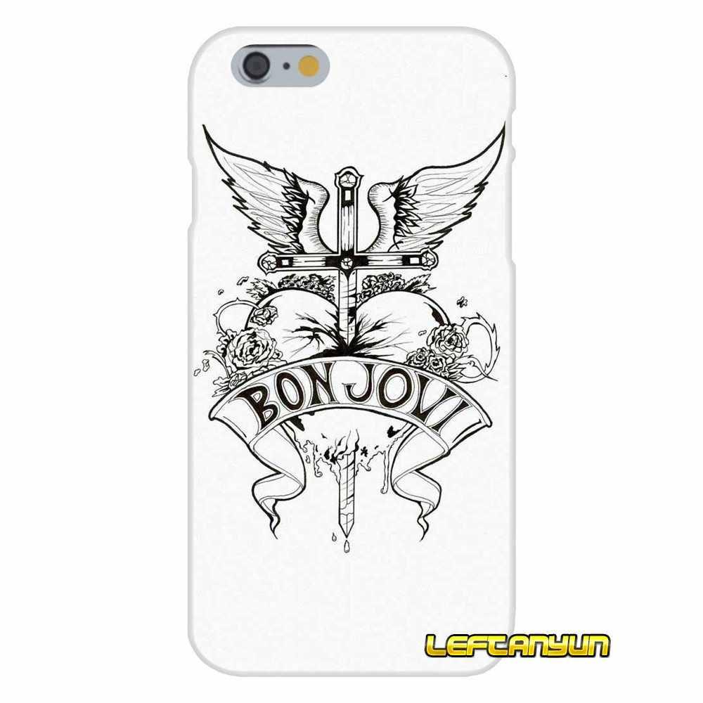 Bon Jovi espada corazón logotipo suave de la caja del teléfono de silicona para Sony Xperia Z Z1 Z2 Z3 Z4 Z5 compacto m2 M4 M5 E3 T3 XA Aqua