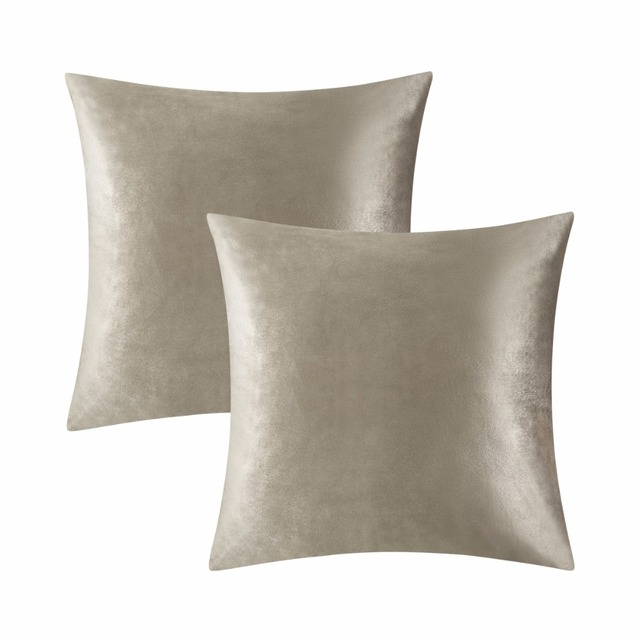 GIGIZAZA 40 Packs Real Velvet Decorative Throw Pillow Covers Classy Decorative Pillow Covers Wholesale