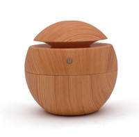 Eworld Essential Oil Diffuser 130ML LED Ultrasonic Cool Mist Aroma Air Humidifier USB Air Purifier For