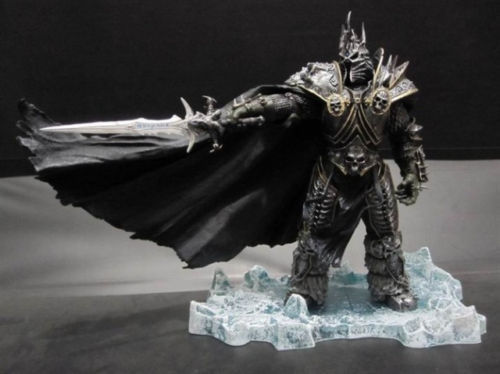 HOT WOW DC7 FALL OF THE LICH KING ARTHAS ACTION FIGURE Model Toy 20CM neca heroes of the storm the lich king arthas pvc action figure collectible model toy 7 18cm