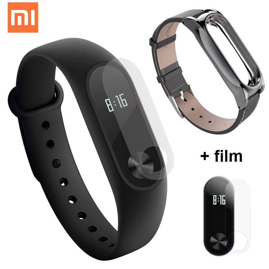 Оригинальный Xiaomi mi Группа 2 Смарт-фитнес браслет часы браслет mi Группа OLED Экран с трекер сна сердечного ритма Xao xao mi Band2