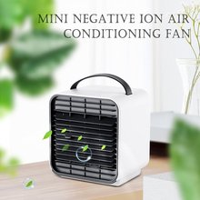 New Mini Negative Ion Air Cooling Fan Usb Charging Cooling Fan Small Refrigeration Desk Fans Small Water Refrigeration