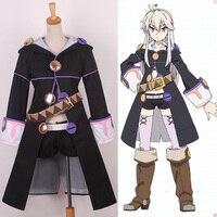 Anime Re: Zero no Magic Book Figure Zero Trench Coat Uniform Full set cosplay costume