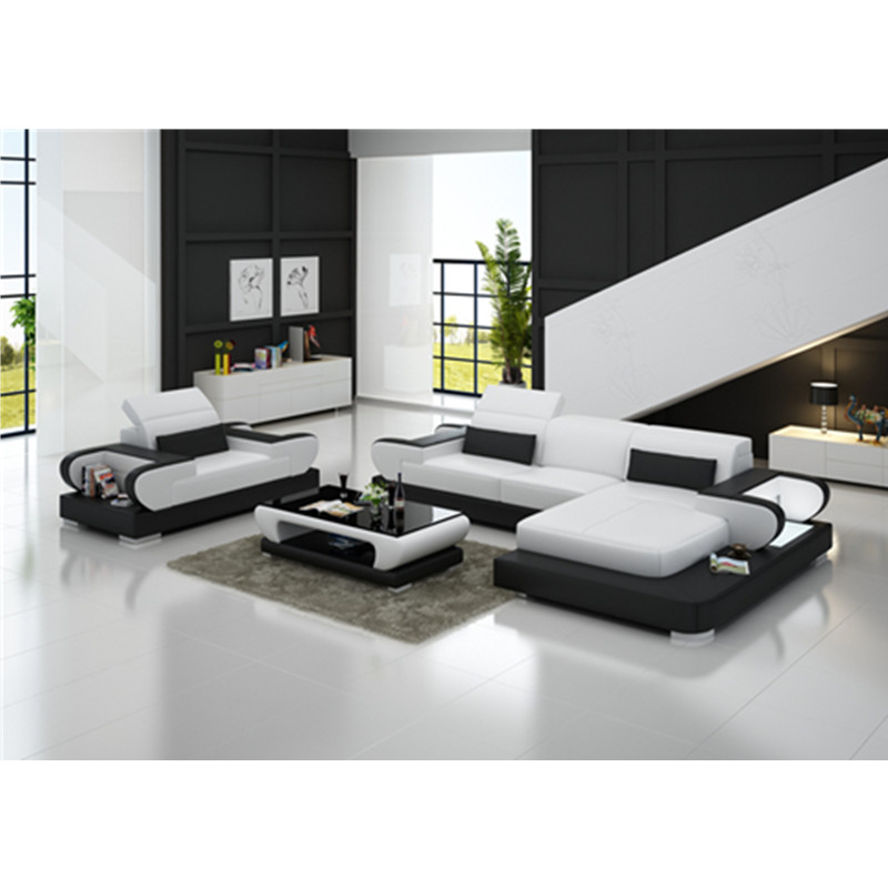 Factory Direct Sale Top Quality Full Grain Leather Sofa