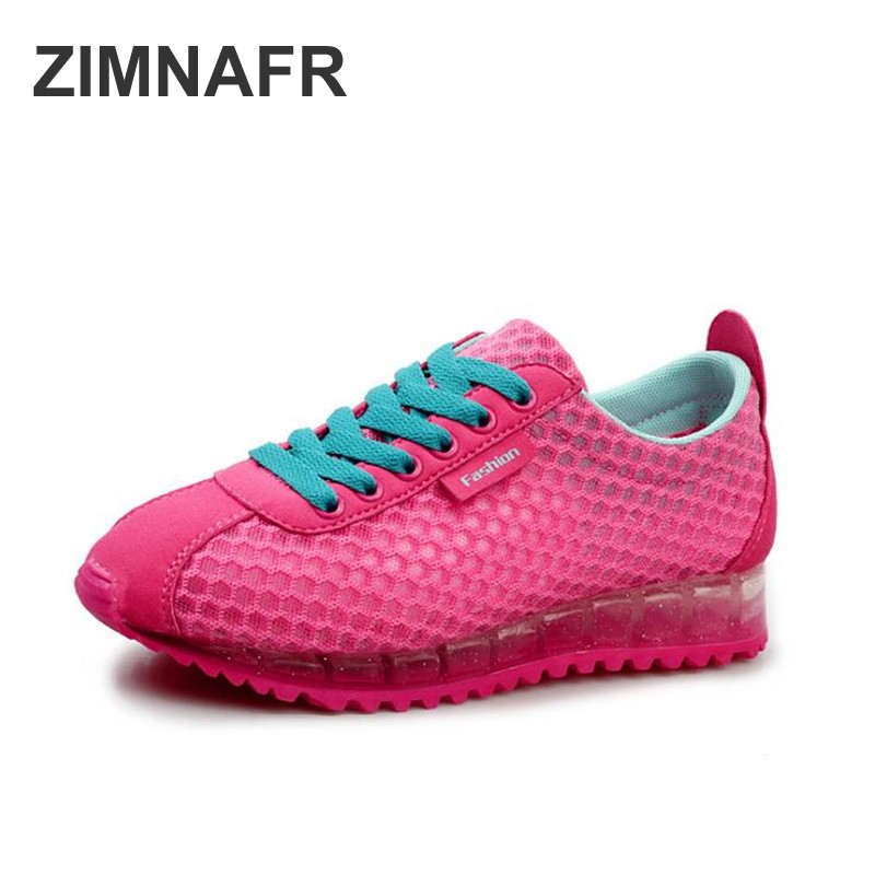 zimafr 2018 summer new air mesh student breathable lace up outdoor women shoes lightweight woman fashion sneakers shoes 35-40 women s shoes 2017 summer new fashion footwear women s air network flat shoes breathable comfortable casual shoes jdt103