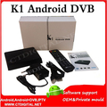 K1 dvb t2 android 1g + 8g xbmc/kodi totalmente cargado wifi 1080 p señal de dvb-t2 dvb t2 android s805 vigica android 4.4 k1 c100t