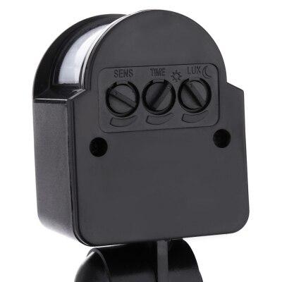 ФОТО AC 85 - 265V 30W 2800 - 3000LM Human Body Infrared Sensor LED Flood Light
