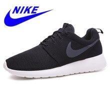 buy online bd5ec e62f5 Authentique Nike ROSHE ONE RUN Original nouvelle arrivée chaussures de  course respirantes pour hommes Sport baskets de plein air.
