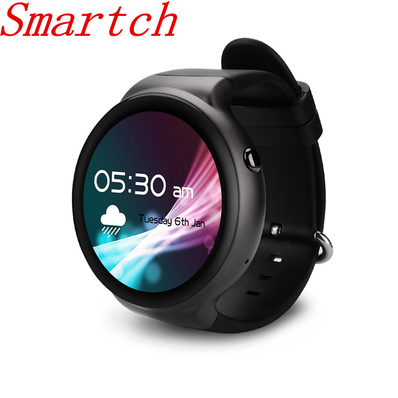 Smartch i4 Smart Watch Android 5.1 OS 1GB RAM 16GB ROM WIFI 3G GPS Heart Rate Monitor MTK6580 Quad Core Bluetooth SmartWatch цена