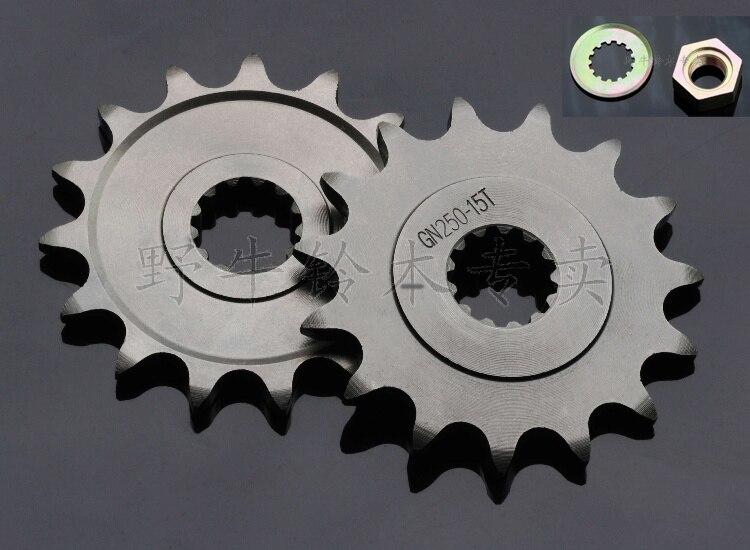 Automobile & Motorräder Freies Verschiffen Gn250 Neue Hohe Leistung Kette O-ring 520hv 100 Links Racing Teile