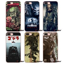 Zachte Transparante Shell Covers Predator Voor iPhone XS Max XR X 4 4 s 5 5 s 5C SE 6 6 s 7 8 Plus Samsung Galaxy J1 J3 J5 J7 A3 A5(China)