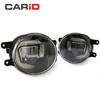 CARiD Fog Lamp LED Car Light Daytime Running Light DRL 2 in 1 Functions Auto Projector Bulb For Toyota Corolla 2007 2016 2017
