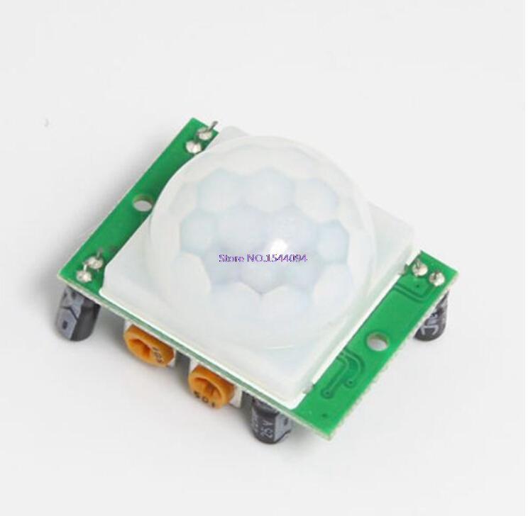 4pcs*lot SR501 HC-SR501 Adjust IR Pyroelectric Infrared PIR Module Motion Sensor Detector Module