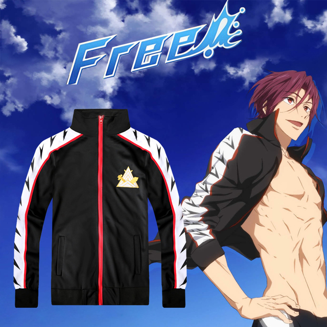 48fb6bfdd9c Hoodies Cosplay for Hazuki Nagisa Yaoi Culture Free! High Speed! Tachibana  Makoto Wigs Vestidos Japanese Anime Halloween Costume