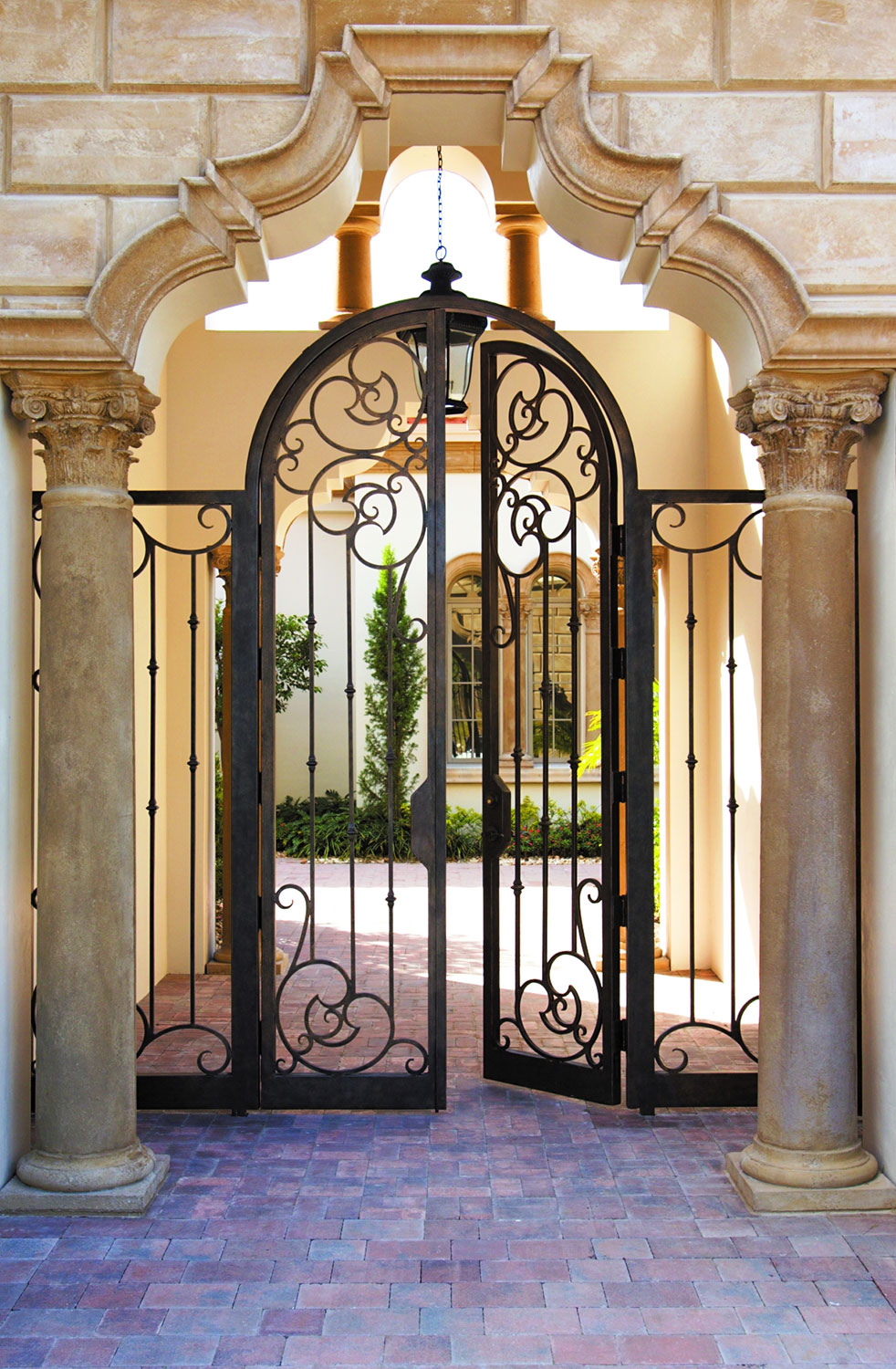 Ornamental Gates Iron Gate Door Gate Decoration