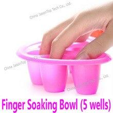 Искусство для ногтей средство для мытья рук Замачивание чаши DIY салон ногтей спа ванна лечебный Маникюр Инструменты Ложные ногтей и Гель-лак удаление чаши