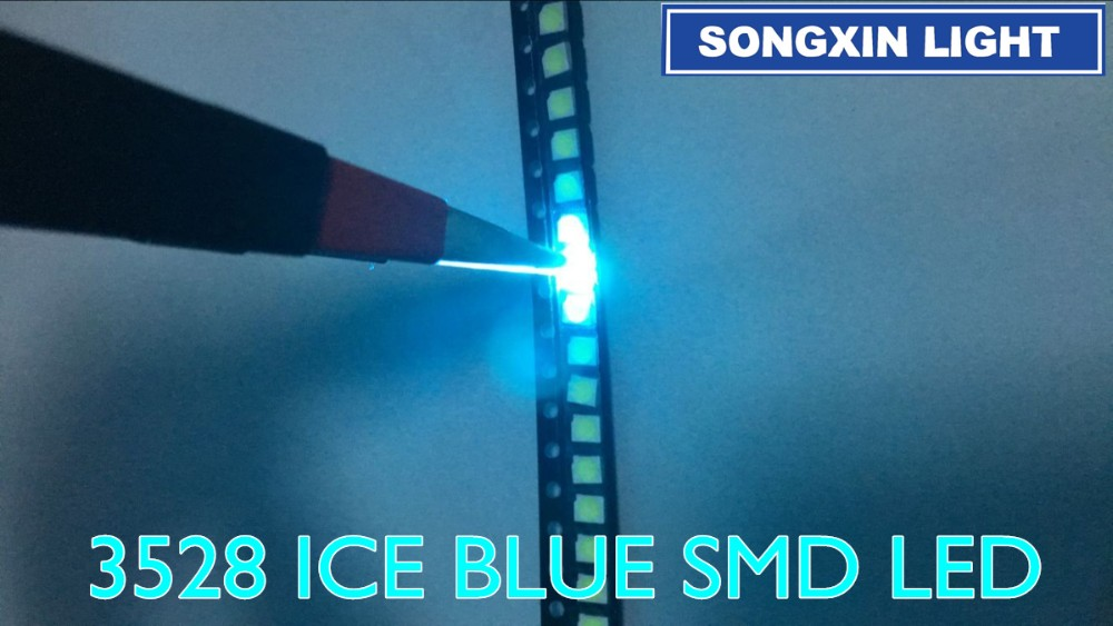 Diodes 100pcs X 3014 Blue Red Jade Green Orange Warm White Yellow Ultra Bright Smd Led Indication