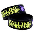 1PC Falling In Reverse Silicone Wristband for Music Fans