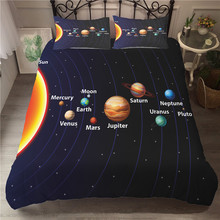 A Bedding Set 3D Printed Duvet Cover Bed Space astronaut Home Textiles for Adults Bedclothes with Pillowcase #ETTK08