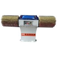 1pc Manual Profile Buffing Machine Woodworking Horizontal polishing machine Wood Embryo Grinding Primer Sanding 220V 1500W