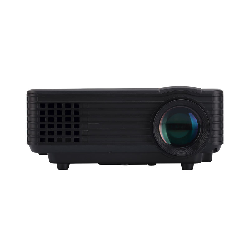 Nuevo Mini Portátil de 1800 Lúmenes Full HD 1080 P LED Proyector Multimedia Teat