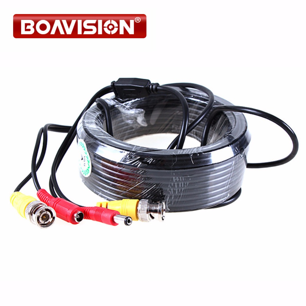 Security CCTV 15 Meter(49ft) Video Male BNC cable/bnc video output cable for CCTV yiispo 4ch video splitter high performance 4ch cctv processor video quad with vga bnc output and remote control