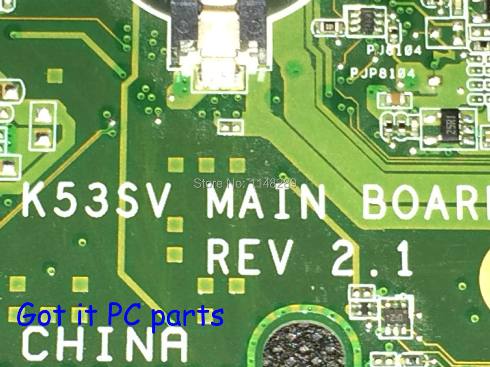 ФОТО AVAILABLE Free Shipping New laptop motherboard K53SV  REV : 2.1  N12P-GV-B-A1 for ASUS  Notebook PC