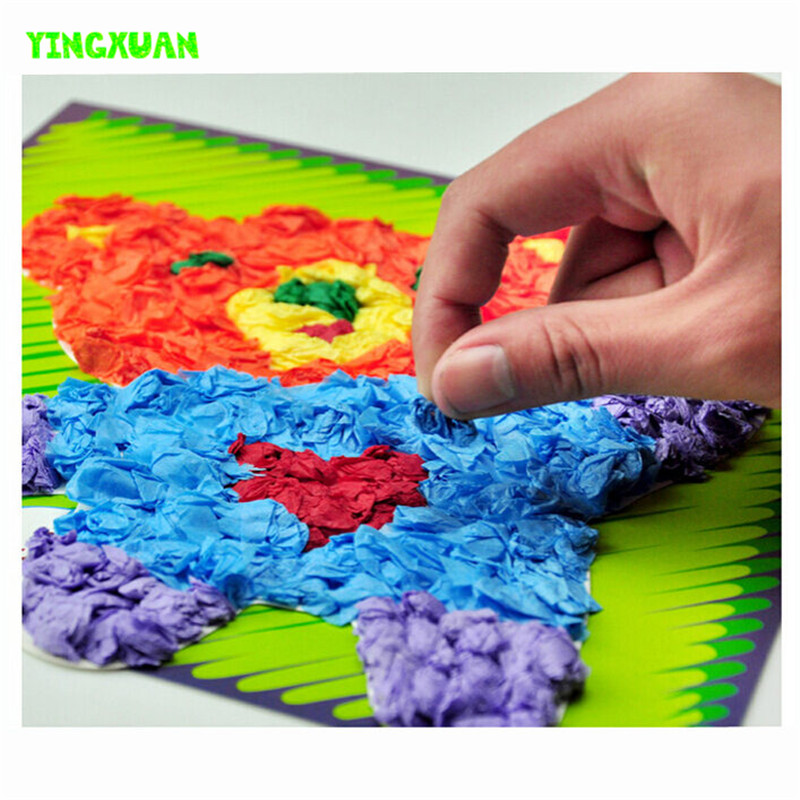 Tissue paper art promotion shop for promotional tissue for Arts and crafts toys for 4 year olds