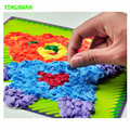 HAPPYXUAN 23.5*23.5 cm Large DIY Tissue Paper Art Craft Kits Room Decorations Educational Toys for Kids