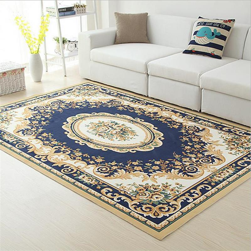 Captivating Europe Wilton Rugs And Carpets For Home Living Room Coffee Table Floor Mat  Luxury Bedroom Area