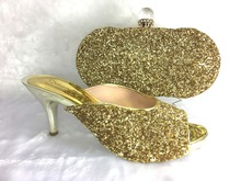 FREE SHIPPING!!New Arrival Italian Shoes With Matching Bag High Quality For Part Wedding Italy Shoes And Bag!MWE1-3